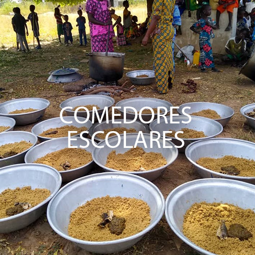 comedores escolares Senegal