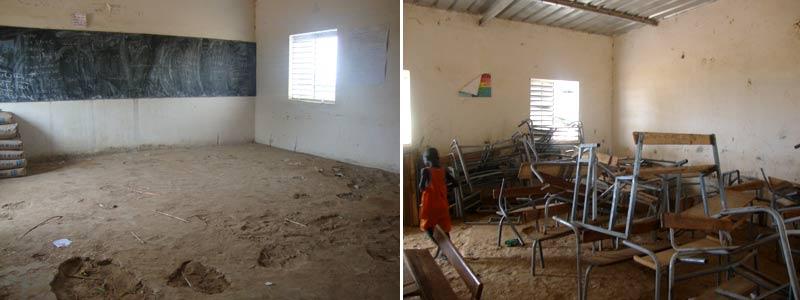 Estado de la escuela de Ndokh